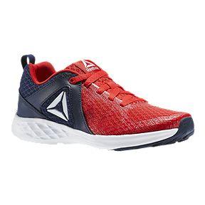 Reebok Kids  Smooth Glide Grade School Shoes - Navy Red 64138f20e