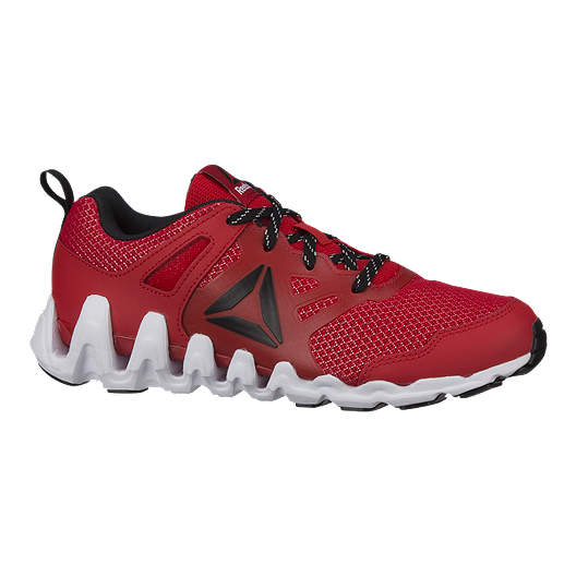 38adcc69380d Reebok Kids  Zig Big N  Fast Fire Pro Grade School Shoes - Red Black White