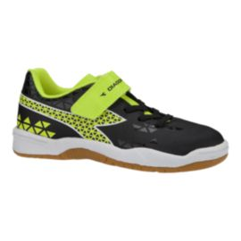 Diadora Kids' Burst Indoor Preschool Velcro Soccer Shoes