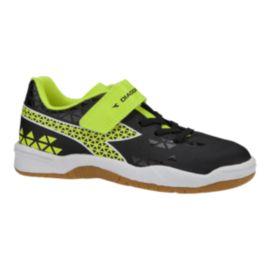 f47db4a741d Diadora Kids  Burst Indoor Preschool Velcro Soccer Shoes