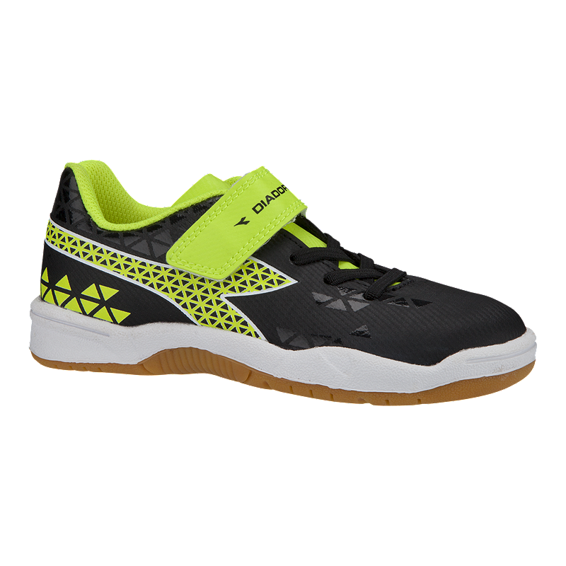 d1b02270a352 Diadora Kids  Burst Indoor Preschool Velcro Soccer Shoes