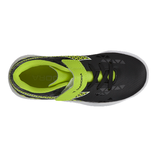 3e0a47277bc4 Diadora Kids  Burst Indoor Preschool Velcro Soccer Shoes