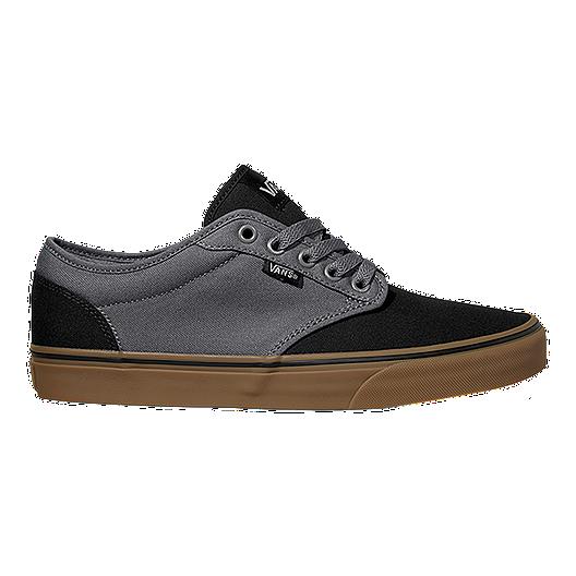 bbd492967ca Vans Men s Atwood (2-Tone) Skate Shoes - Black Gum