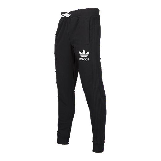 f61955f74 adidas Originals Men s 3-Stripe Fleece Pants - BLACK