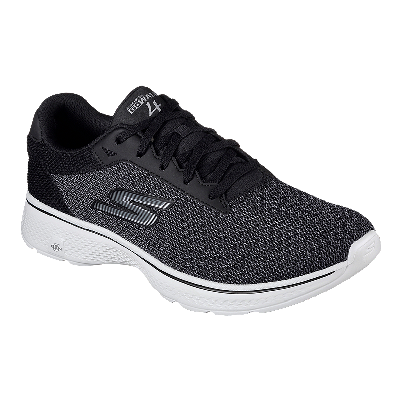 d6f8c139c984 Skechers Men s Go Walk 4 Walking Shoes - Black Grey