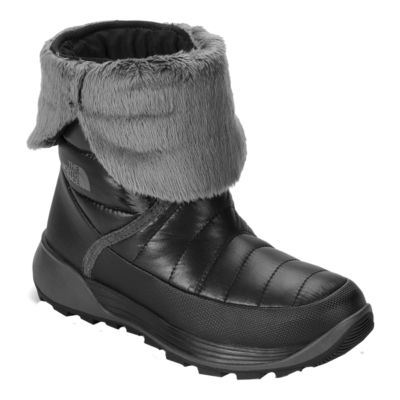 c55e3ffd1 The North Face Girls' Amore II Winter Boots - Black/Grey