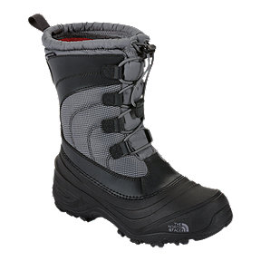 The North Face Kids' Alpenglow IV Winter Boots - Grey/Zinc