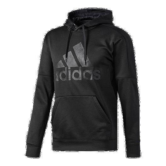 1dc96d16c6e1 adidas Men s Team Issue Logo Pullover Hoodie