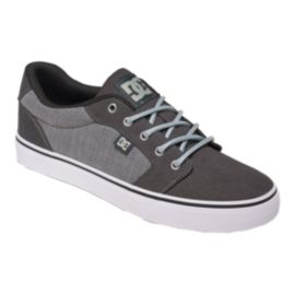 DC Men's Anvil TX SE Skate Shoes - Grey/Black