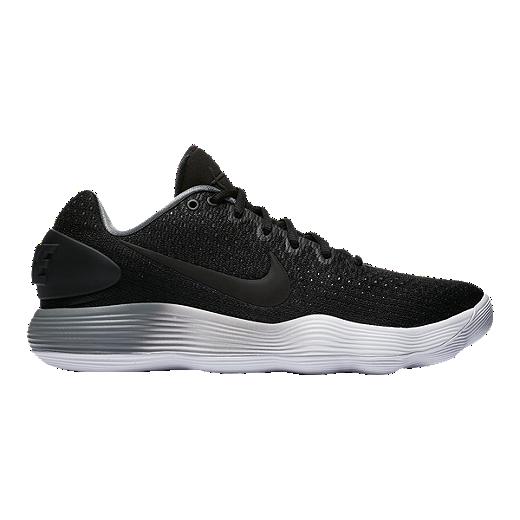 outlet store 12111 c99cf Nike Men s Hyperdunk 2017 Low Basketball Shoes - Black Grey White - BLACK