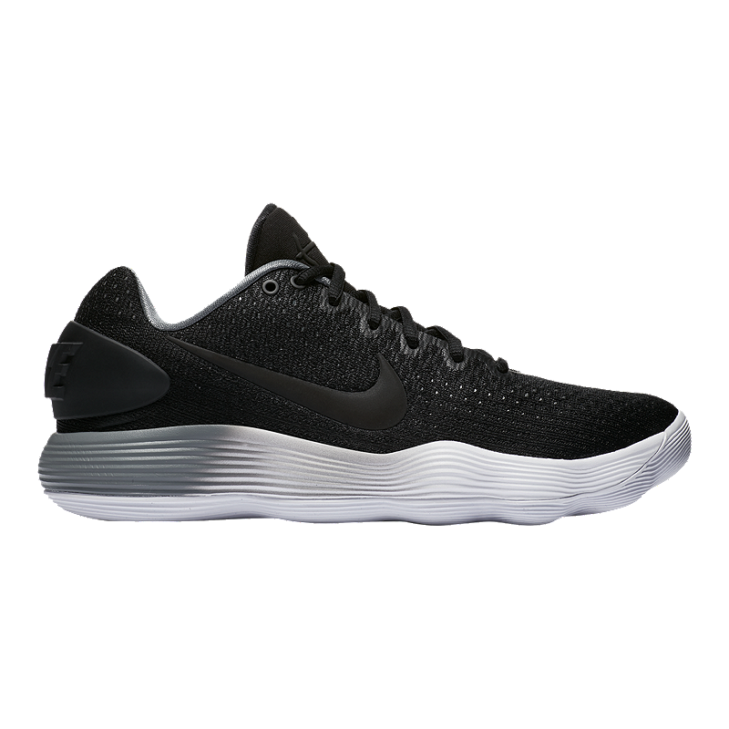 Nike Men's Hyperdunk 2017 Low Basketball Shoes BlackGrey