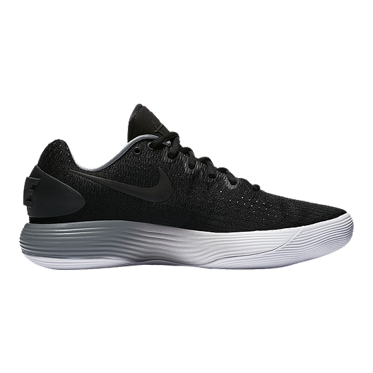 895d30cdeb9a Nike Men s Hyperdunk 2017 Low Basketball Shoes - Black Grey White ...