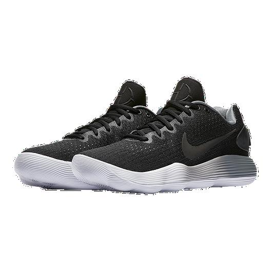 ceb057629f8f Nike Men s Hyperdunk 2017 Low Basketball Shoes - Black Grey White. (1).  View Description