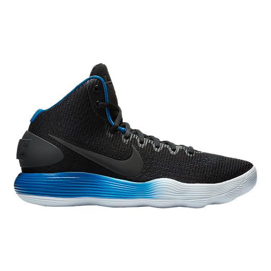 6fa1e8fe204a Nike Men s Hyperdunk 2017 Basketball Shoes - Black Blue