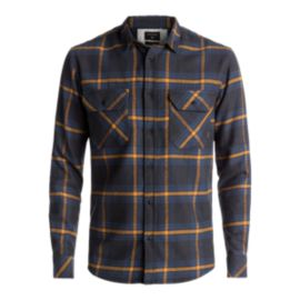 Quiksilver Men's Fitz Forktail Long Sleeve Flannel Shirt