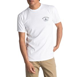 Quiksilver Men's Amsberry Short Sleeve T Shirt - White
