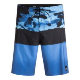 Quiksilver Men's Blocked Resin Camo 20 Inch Boardshort