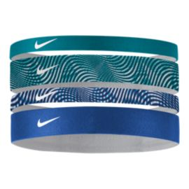 Nike Printed Headbands Assorted 4 - Pack