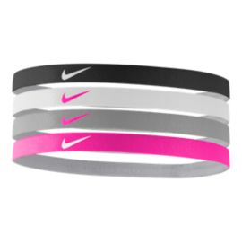 Nike Girls' Assorted Headbands - 4-Pack