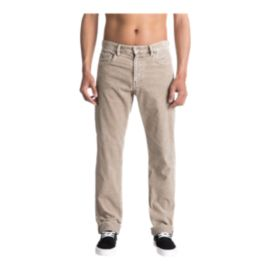 Quiksilver Men's Kracker Corduroy Pant - Fungi Brown