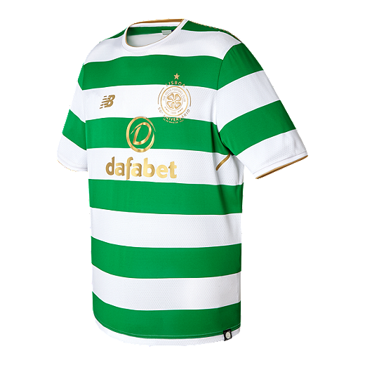 5b55177d6 Celtic FC 2017 18 New Balance Men s Home Jersey - WHITE