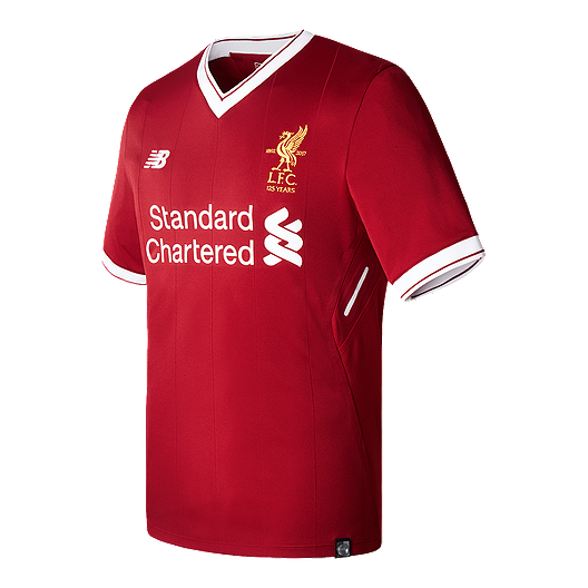 2ed0e75b4 Liverpool Men's Home Soccer Jersey 2017/18 - Red | Sport Chek