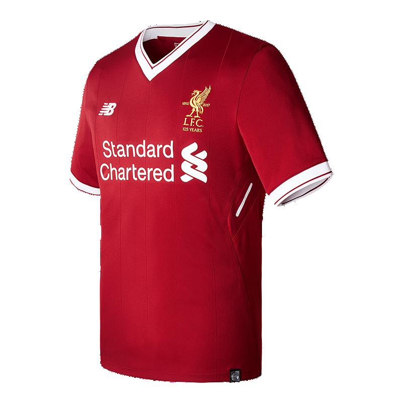 Liverpool Men s Home Soccer Jersey 2017 18 - Red  60c3700e61e4