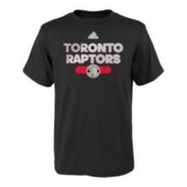 Toronto Raptors Kids' Reflective Authentic T Shirt