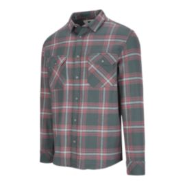 Quiksilver Men's Forktail Flannel Long Sleeve Shirt