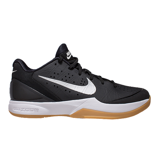 cfbcc73087c339 Nike Men's Air Zoom HyperAttack Indoor Court Shoes - Black/Silver/Gum |  Sport Chek