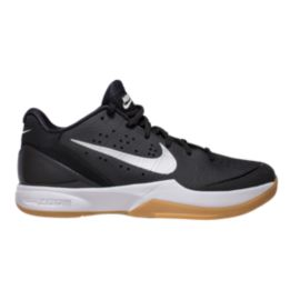 Nike Men's Air Zoom HyperAttack Indoor Court Shoes - Black/Silver/Gum