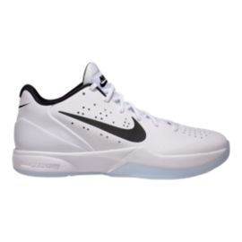 Nike Men's Air Zoom HyperAttack Indoor Court Shoes - White Ice/Black