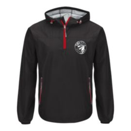 Toronto Raptors Maximum Half Zip Jacket