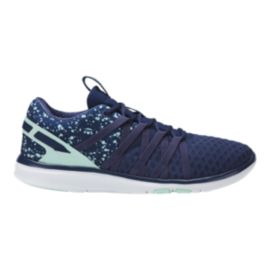 ASICS Women's Gel Fit Yui Training Shoes - Indigo Blue/Glacier
