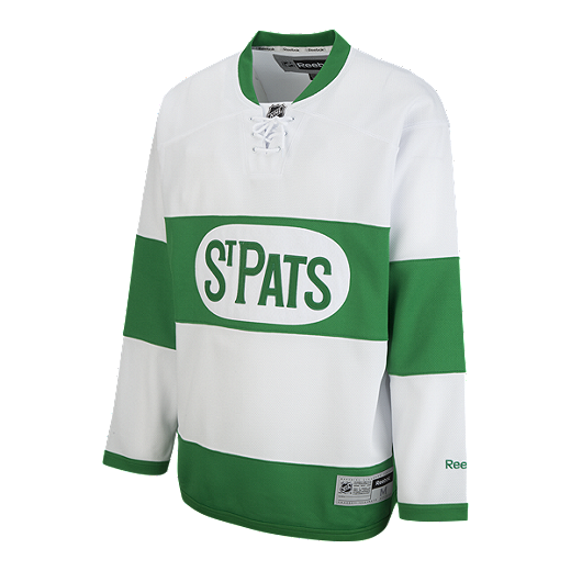 f5ff62712 Toronto Maple Leafs St. Patrick s Day Replica Hockey Jersey - GREEN