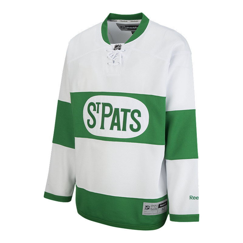 brand new 168ba 2bae5 Toronto Maple Leafs St. Patrick's Day Replica Hockey Jersey ...