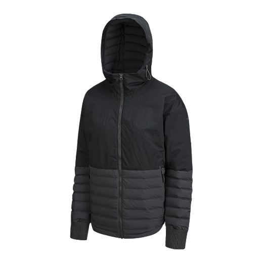 f55f7113f60 Columbia Women's Open Site Hybrid Omni-Heat Insulated Hooded Jacket -  BLACK/SHARK