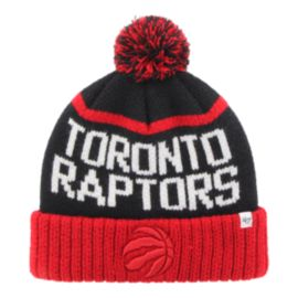Toronto Raptors NBA Men's Linesman Cuff Pom Knit