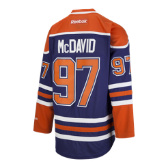 Edmonton Oilers Connor McDavid Premier Home Hockey Jersey  e760c3f14