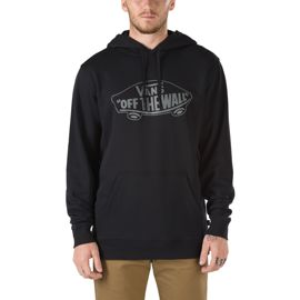 Vans Men's Off The Wall Pullover Hoodie - Black/Pewter