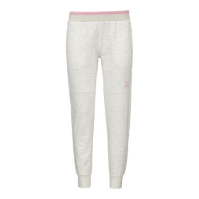 PUMA Girls' French Terry Jogger Pants