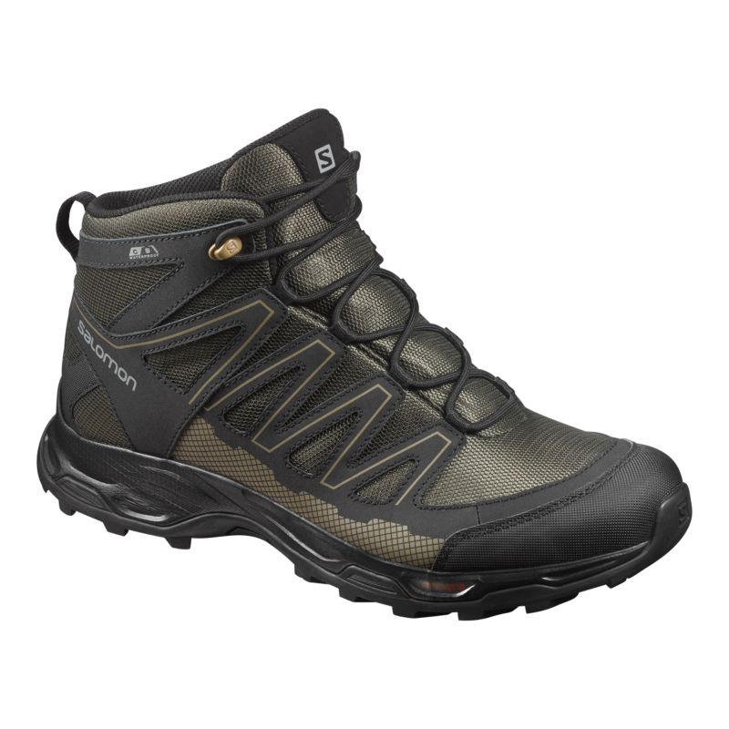 salomon s pathfinder mid waterproof hiking boots