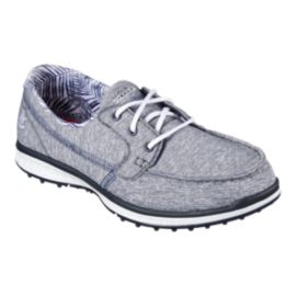 Skechers Women's Go Golf Elite 2 Stellar Golf Shoes - Heather Grey/Navy