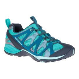 Merrell Women's Siren Hex Q2 Waterproof Hiking Shoes - Baltic