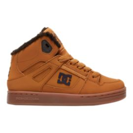 DC Kids' Rebound WNT Grade School Boots - Wheat/Gum