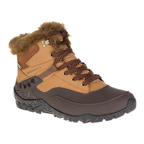 Merrell Women's Aurora 6 Ice+ Waterproof Winter Boots - Tan