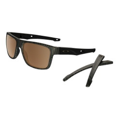 6574f851c70 Oakley Crossrange Polarized Sunglasses- Woodgrain with Prizm Tungsten  Lenses