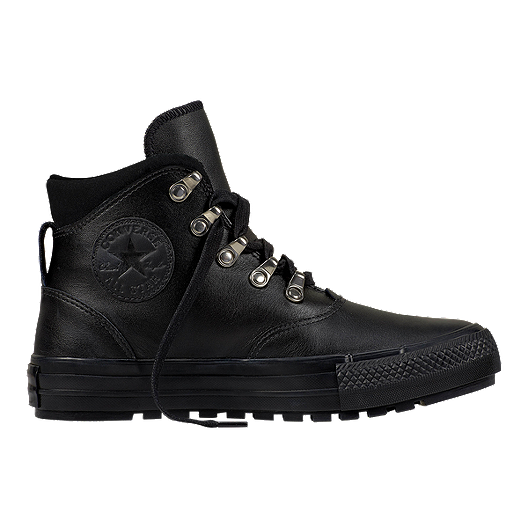667a009217abee Converse Women s Chuck Taylor All Star Ember Leather Boots - Black ...