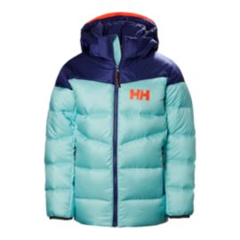 Helly Hansen Girls' Isfjord Down Mix Winter Jacket