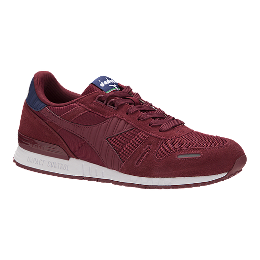 6ba08124 Diadora Men's Titan II Shoes - Tibetan Red/Estate Blue | Sport Chek